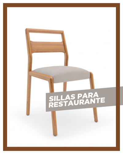 Sillas para bar restaurante en Costa Rica