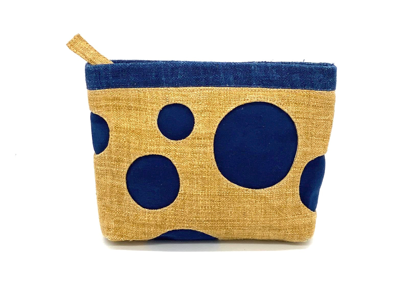 """Sapa"" Hemp ""Six Circles"" Pouch"