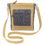 """Boho"" Canvas Cross Body Bag"