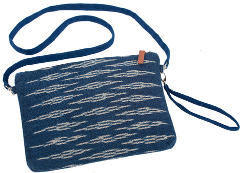 """Lilly"" Ikat 3-in-1 (Crossbody/ Wristlet/ Clutch)"