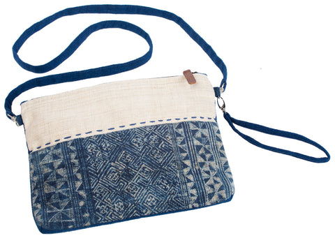 """Holly"" 3-in-1 (cross body/ wristlet/ clutch)"