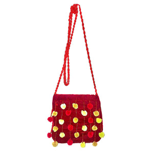 "Joy Oy's ""Pompom"" Cross body"