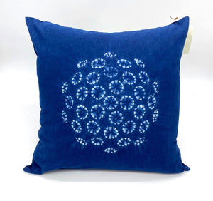"""Shibori"" Cotton Pillow Covers- NEW"