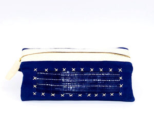 """Sapa"" Cotton & Batik Toiletries Case"