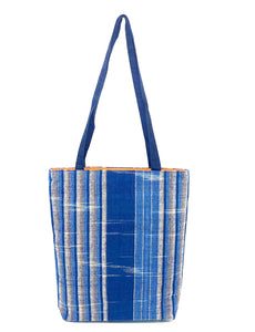 """Village Weavers"" Cotton Totes- in 5 color options"