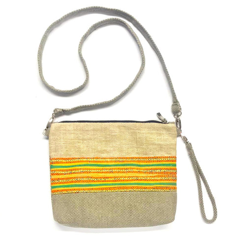 """Mai"" 3-in-1 Bag in Green or Sand"