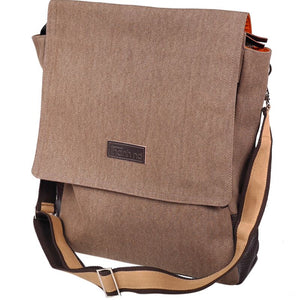 """TND"" Messenger Bag with front flap"