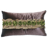 "Joy Oy's ""Sasha"" Pillow Covers, velvet 12""x20"""