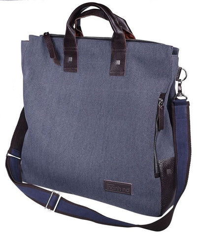 """TND"" Messenger Bag with plain front"