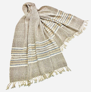 """Tai Leu"" Cotton Scarf/Wrap NEW!"