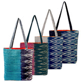 """Savannakhet"" Totes in Year-round colors"