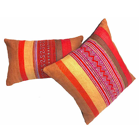"""Sapa"" Vintage Pillow Covers (2 sizes in 2 colors)"