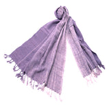 """Freedom"" Ikat Throw- lavender"