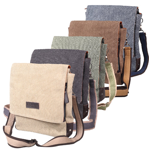 """TND"" Cross Body Bag w/ front flap"