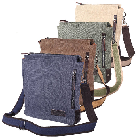 """TND"" Cross Body Bag w/ zippered outside pocket"