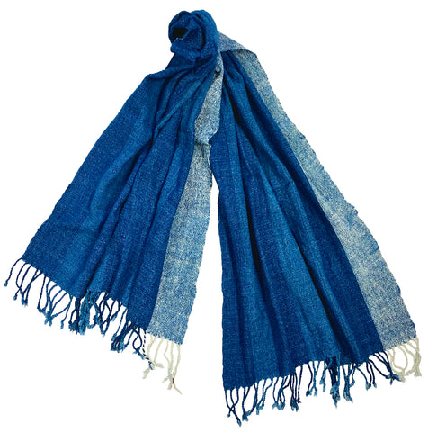 """infinite indigo"" Wrap or Shawl  NEW!!"