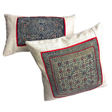 """Galerie"" Vintage Hmong Pillow Covers"