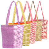 """Savannakhet"" Totes in Pastels-- 5 colors"