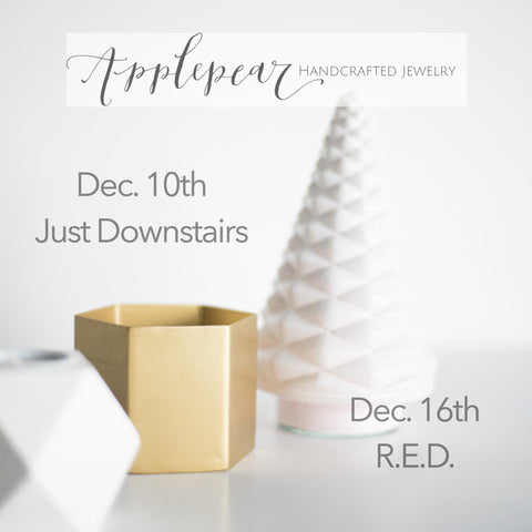 Applepear Trunk Shows December 2015 El Segundo