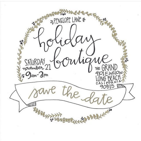 Penelope Lane Holiday Boutique Long Beach