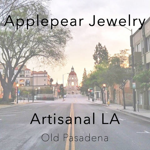 Artisanal LA Old Pasadena Applepear Jewelry
