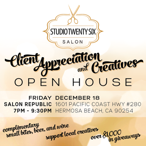 Studio Twenty Six Salon Open House