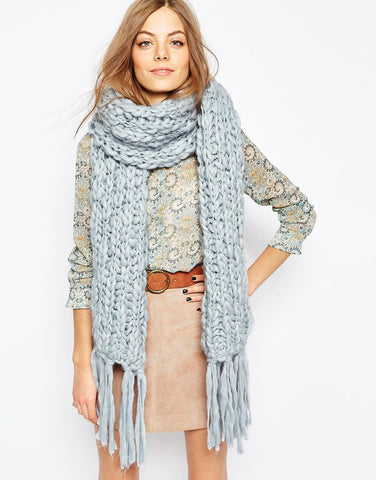 Best Colorful Scarves Fall Style 2015