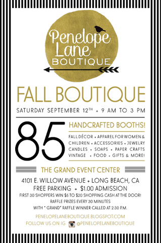 Applepear Jewelry at the Penelope Lane Boutique Fall 2015