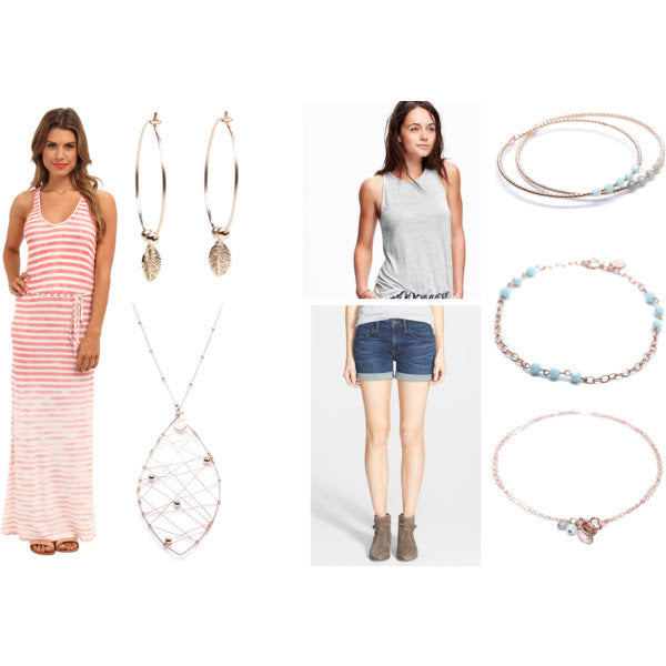 Applepear Jewelry to Dress Up Your Summer Basics
