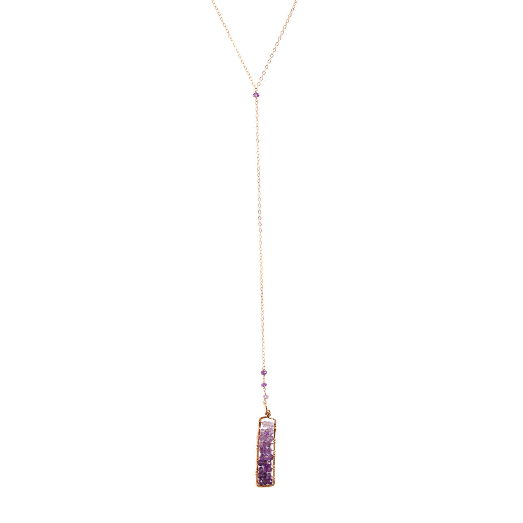 product onyx rectangle hq necklace black