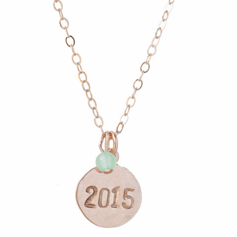 Customized Class of 2015 Necklace