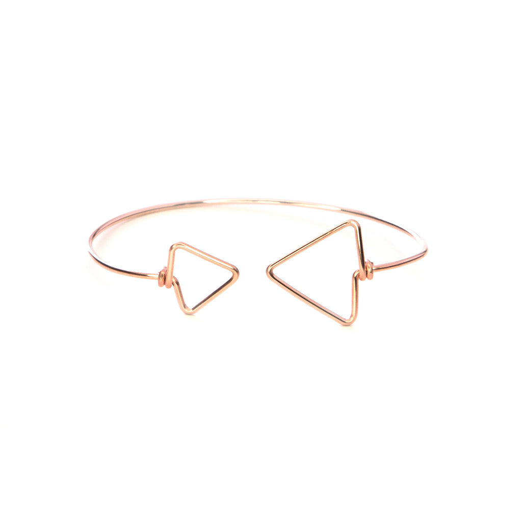 Loa Bangle - Rose Gold
