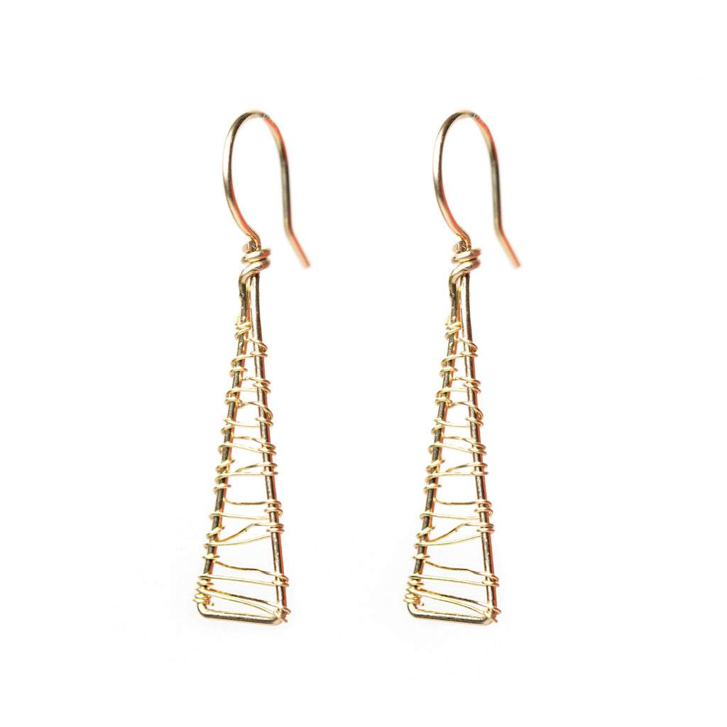 Olympus Woven Dangle Earrings