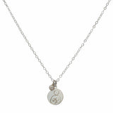 Breastfeeding Support Necklace - Silver with Akoya Pearl