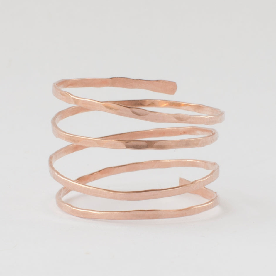 Tornado Ring - Rose Gold