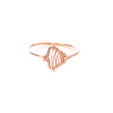Whitney Woven Ring - Rose Gold