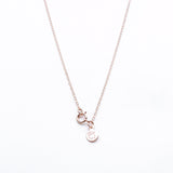 rose gold necklace clasp