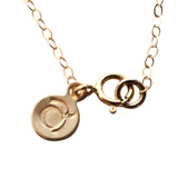 applepear gold clasp
