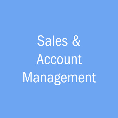 Sales & Account Management