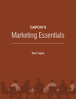 Capon's Marketing Essentials, by Noel Capon