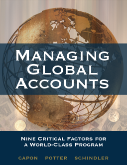 Managing Global Accounts 2nd Edition, by Noel Capon