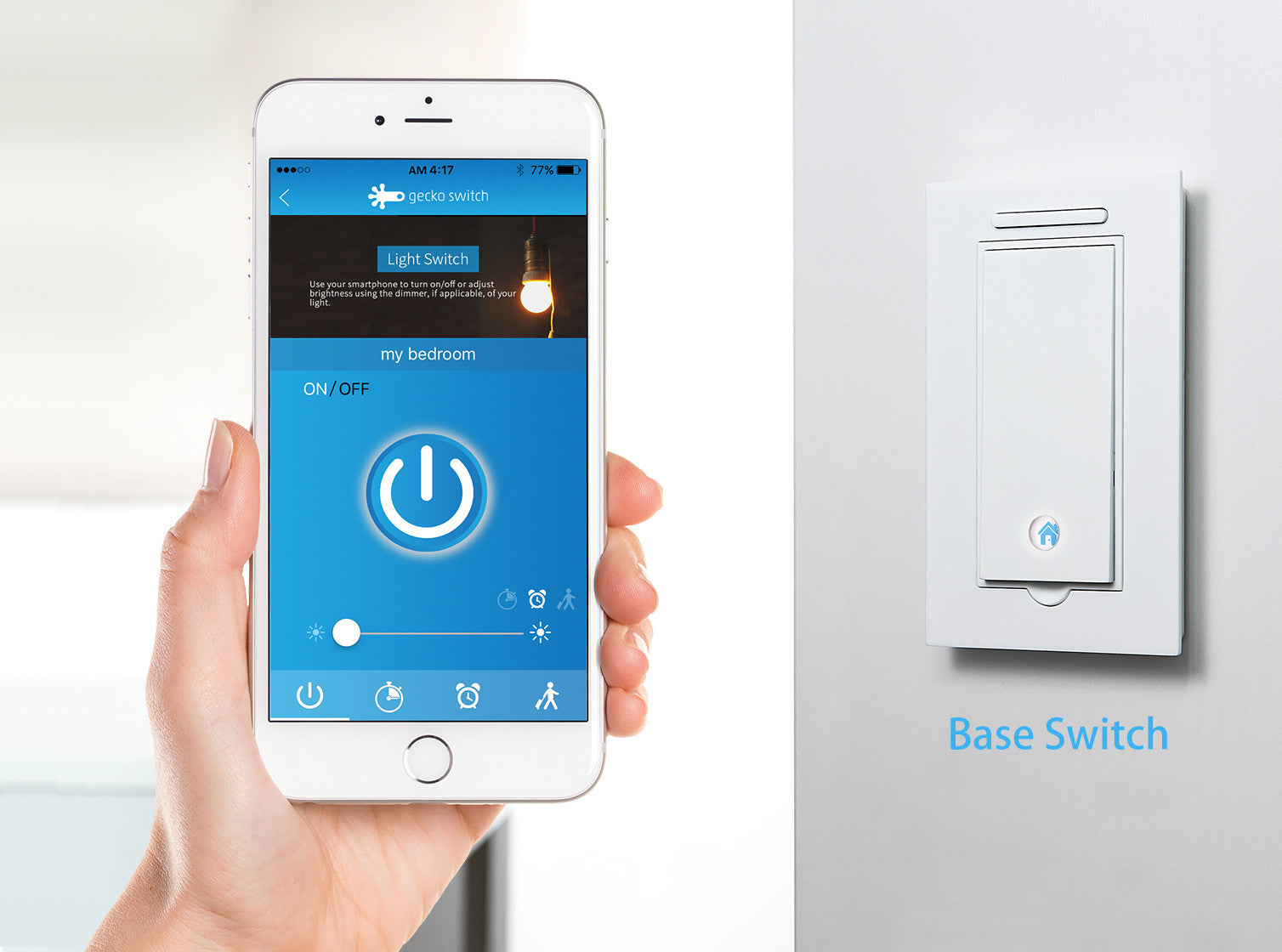 Gecko Switch Smart Light Switches Require No Wiring Gizmodo Australia Base Canada Only