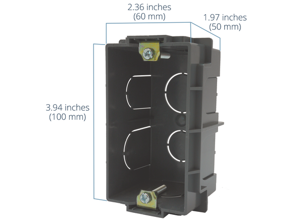 Wallbox for EU, UK, India, and Middle East...