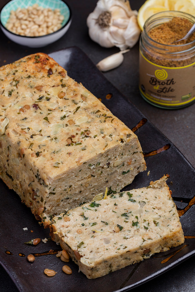 Chicken & Roasted Pine Nut Loaf
