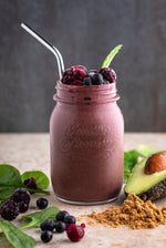 Broth and Berry Smoothie