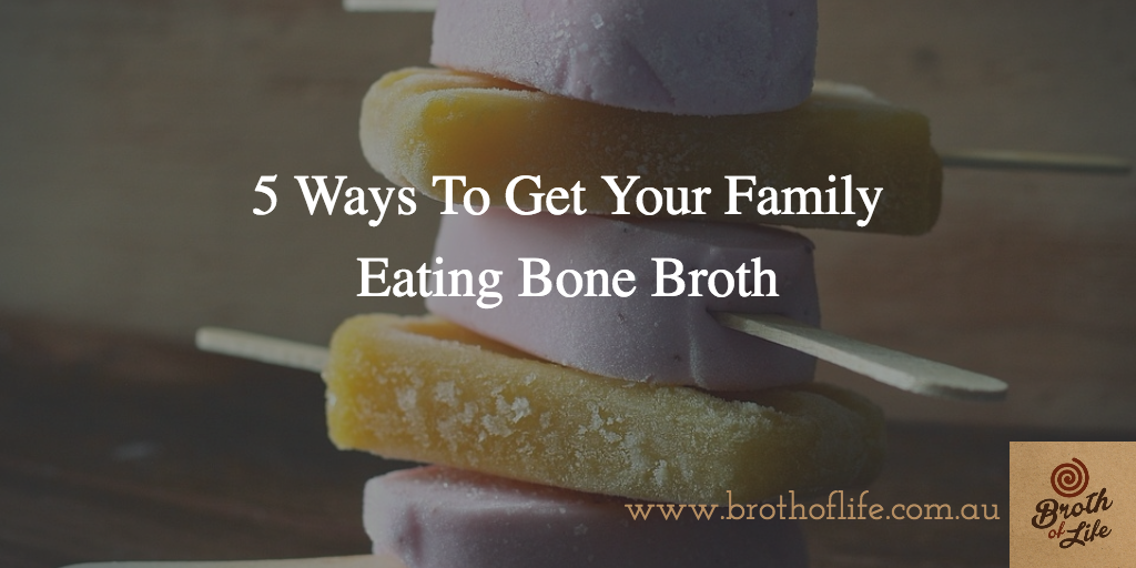 Want your kids to eat bone broth? Here's how!