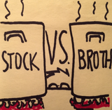 Stock vs Broth