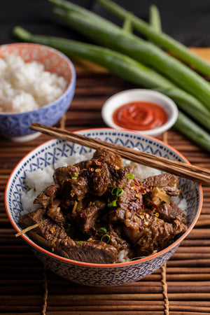 Asian bone broth braised beef