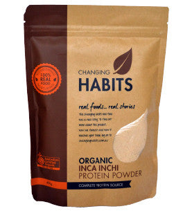 Changing Habits Inca Inchi Protein Powder