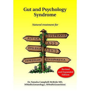 GAPS: Gut and Psychology Syndrome